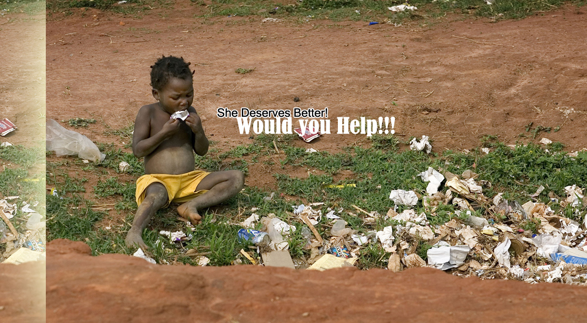 """A child scavenges for food in a garbage pit near Malanje, Angola. United Methodist bishops in Africa have issued a Sept. 11 letter outlining new actions to combat poverty on the continent. The bishops that make up the church's African College of Bishops expressed """"righteous indignation at the current plight of our continent"""" and resolved to work with professional, community and nongovernmental organizations and agencies to alleviate poverty in Africa. They met Sept. 8-11 at Africa University in Mutare, Zimbabwe. A UMNS file photo by Mike DuBose. Photo #080868. Accompanies UMNS story #382. 9/15/08."""
